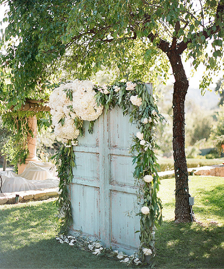 Handmade Wedding Altar: Photocalls Florales De Estilo Handmade Www.habitan2.com