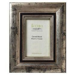 """Fashion Antiqued Carved Wood Frame, 4x6"""", Elegance Wholesale"""