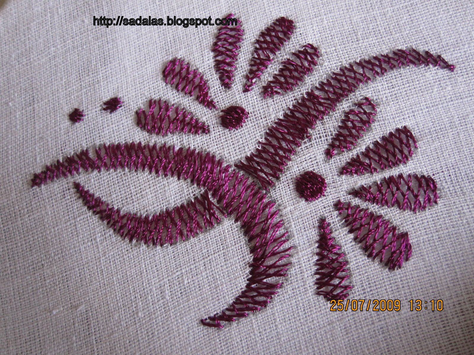 Embroid Leaves Using Herringbone Stitch – Wonderful Image Gallery