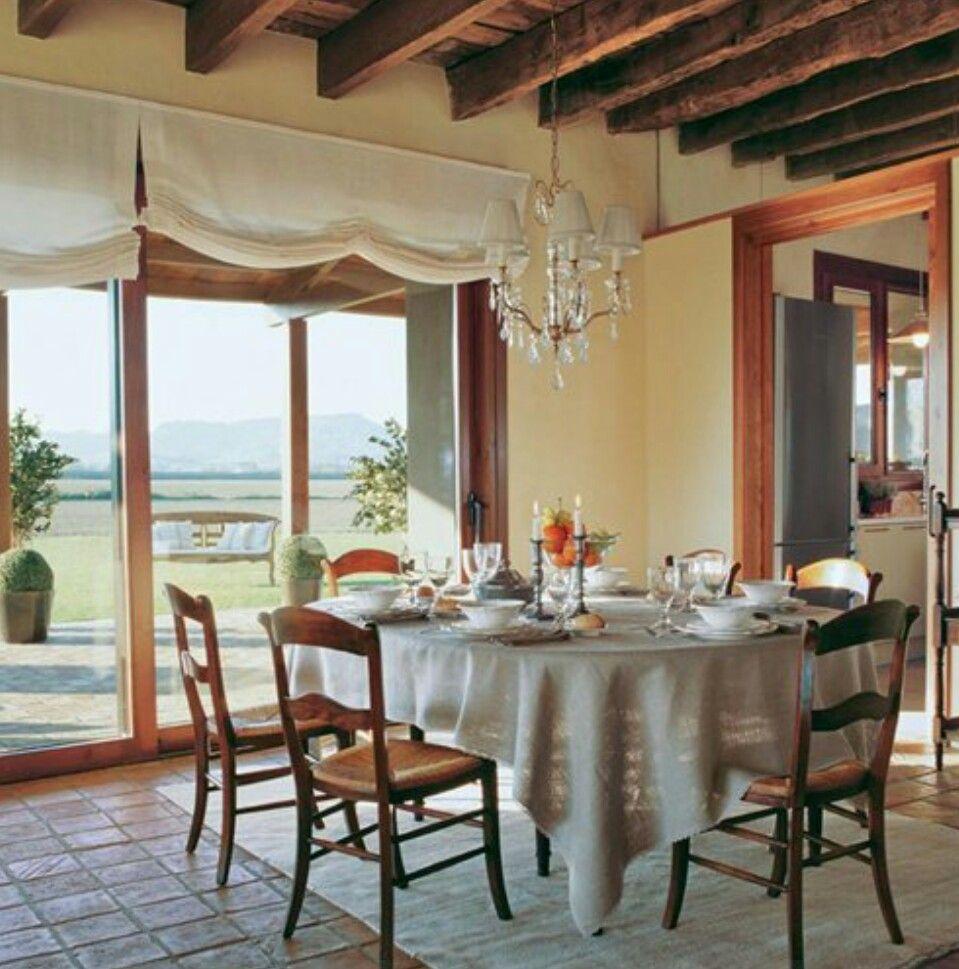 Estores en comedor | Muebles y decoracion Casa | Pinterest ...