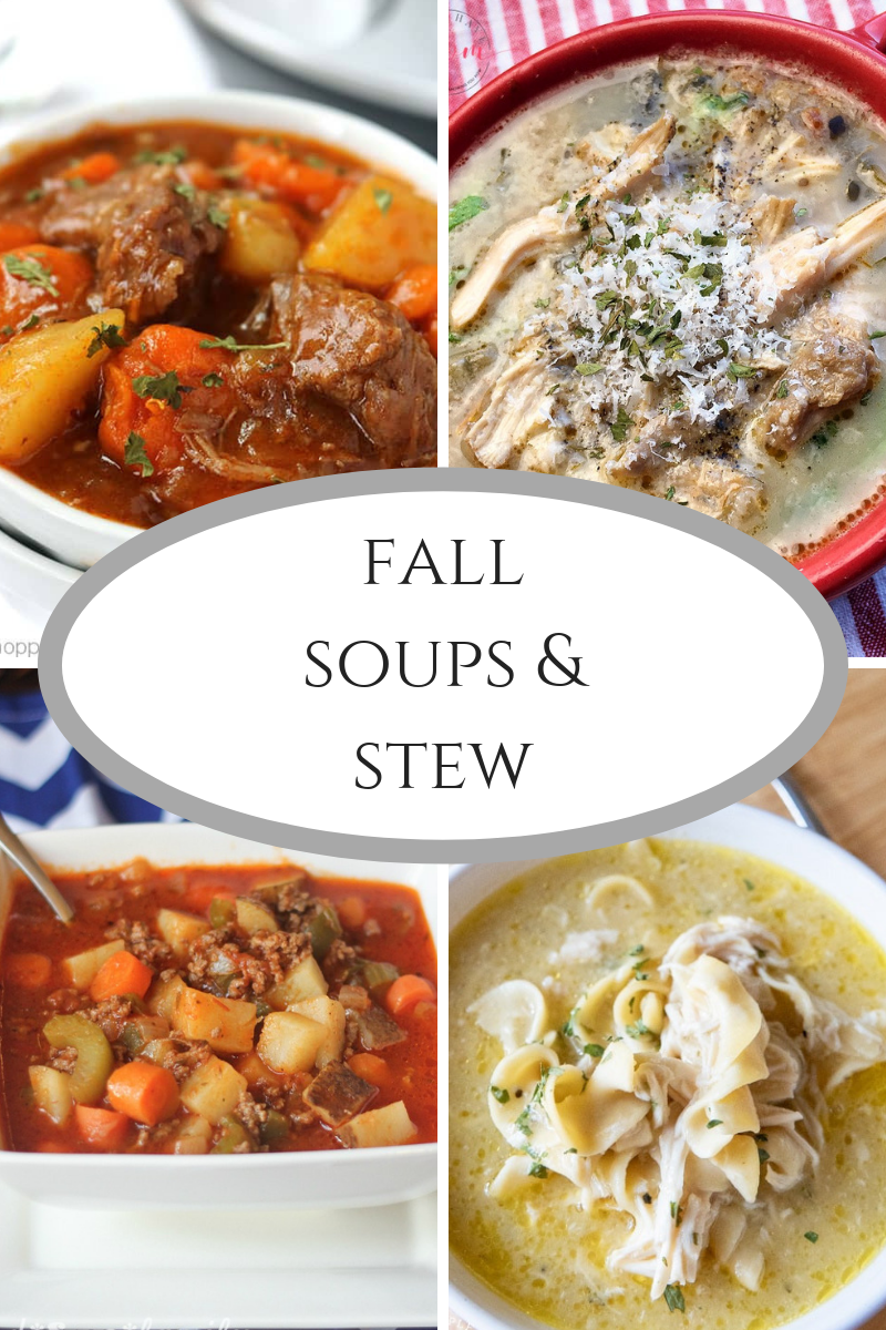Delicious Fall Soups and Stew!
