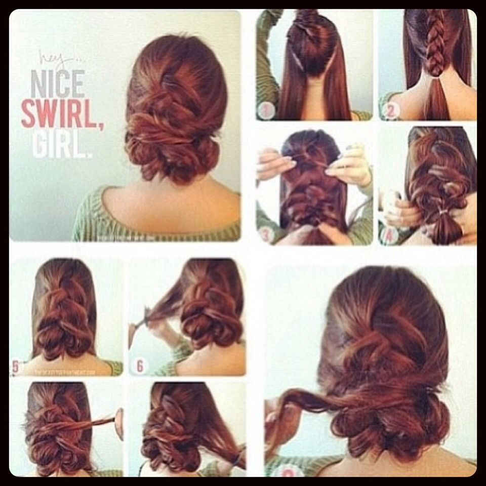 Updo  Hair styles, Classy hairstyles, Hair and makeup tips