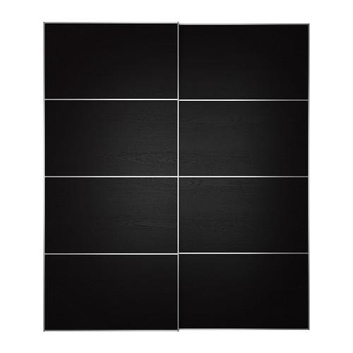 IKEA - ILSENG, Liukuovipari, 200x236 cm, -, , 10 vuoden takuu. Lisätietoja ja takuuehdot takuuvihkosessa.Liukuovet eivät tarvitse tilaa auetakseen, joten kaappi mahtuu pienempään tilaan kuin saranaovellinen malli.
