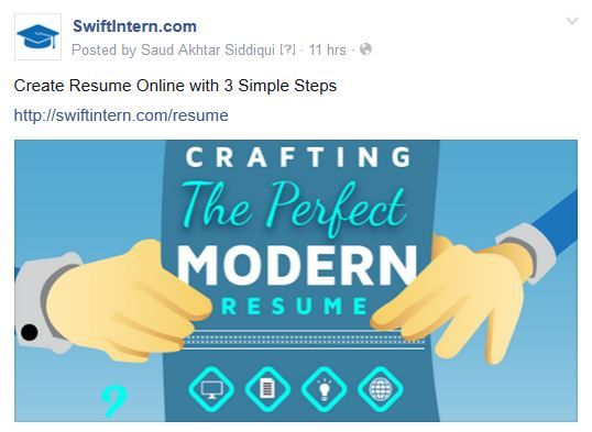Create a Resume online with 3 simple steps http\/\/swiftintern - create a resume