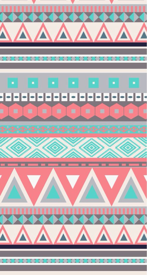 Tribal Love It Wallpaper Iphone Aztec Wallpaper Teal