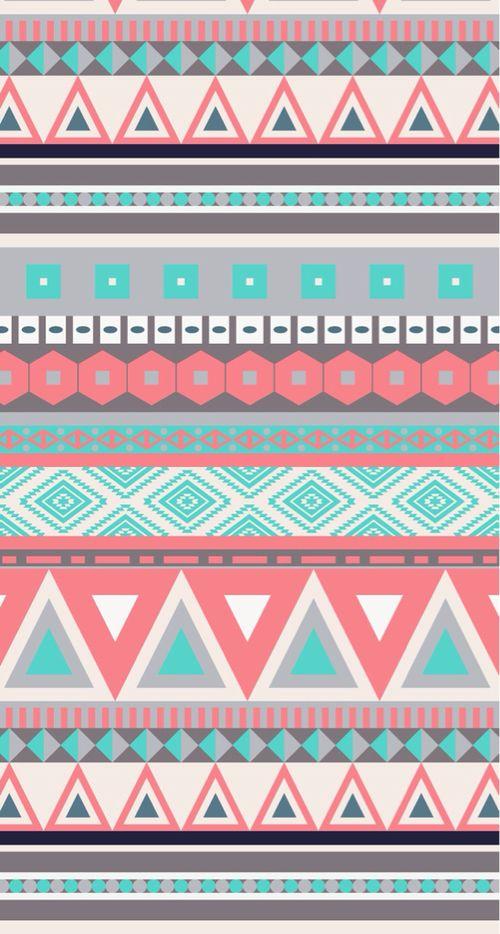 Pin By Kate On Wallpapers Aztec Wallpaper Tribal Wallpaper Pattern Wallpaper