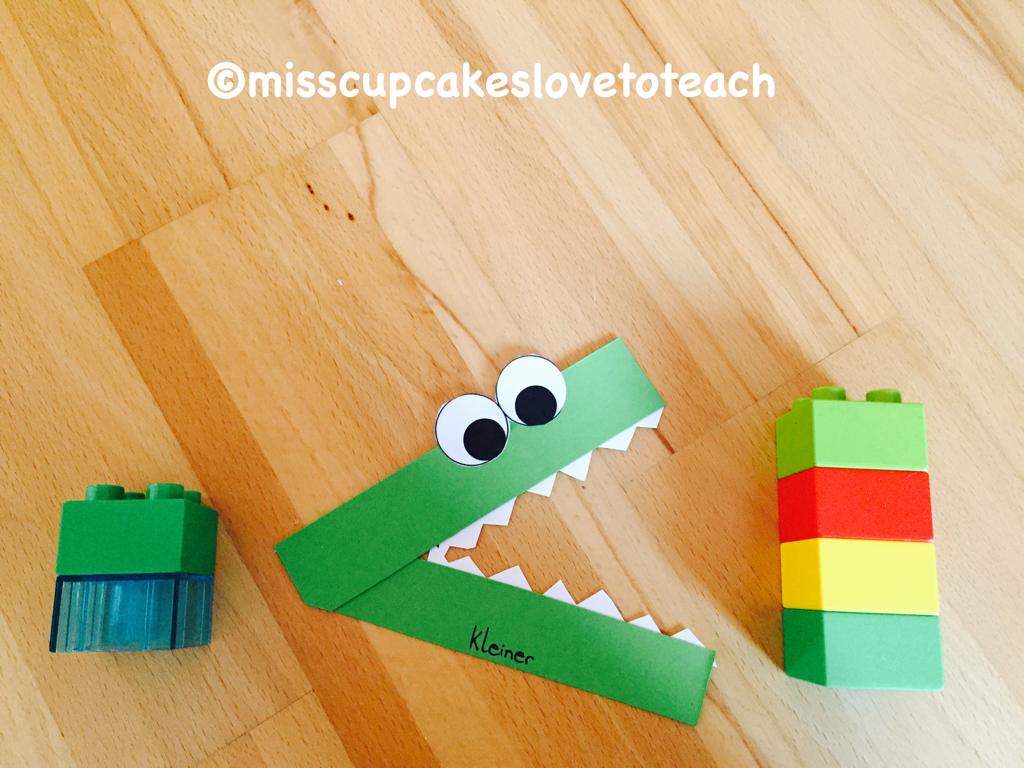 Bildergebnis für größer kleiner krokodil vorlage | Mathe | Pinterest ...