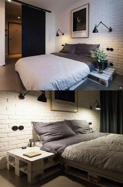 palle seng Palleseng | Soveværelse | Pinterest | Palette furniture, Bedroom  palle seng