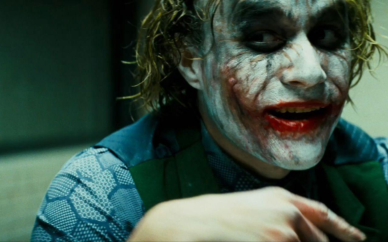 awesome HD Wallpaper The Joker Heath Ledger Smiling 11