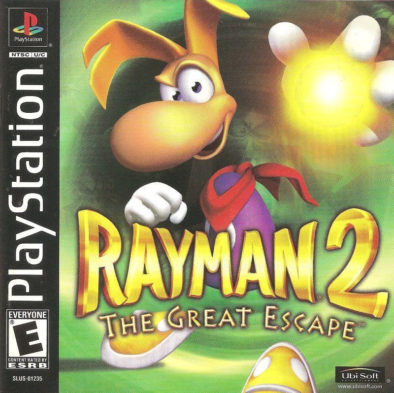 Rayman 2 The Great Escape Playstation 1 Juegos De Ps1 Juegos Psx Juegos Retro