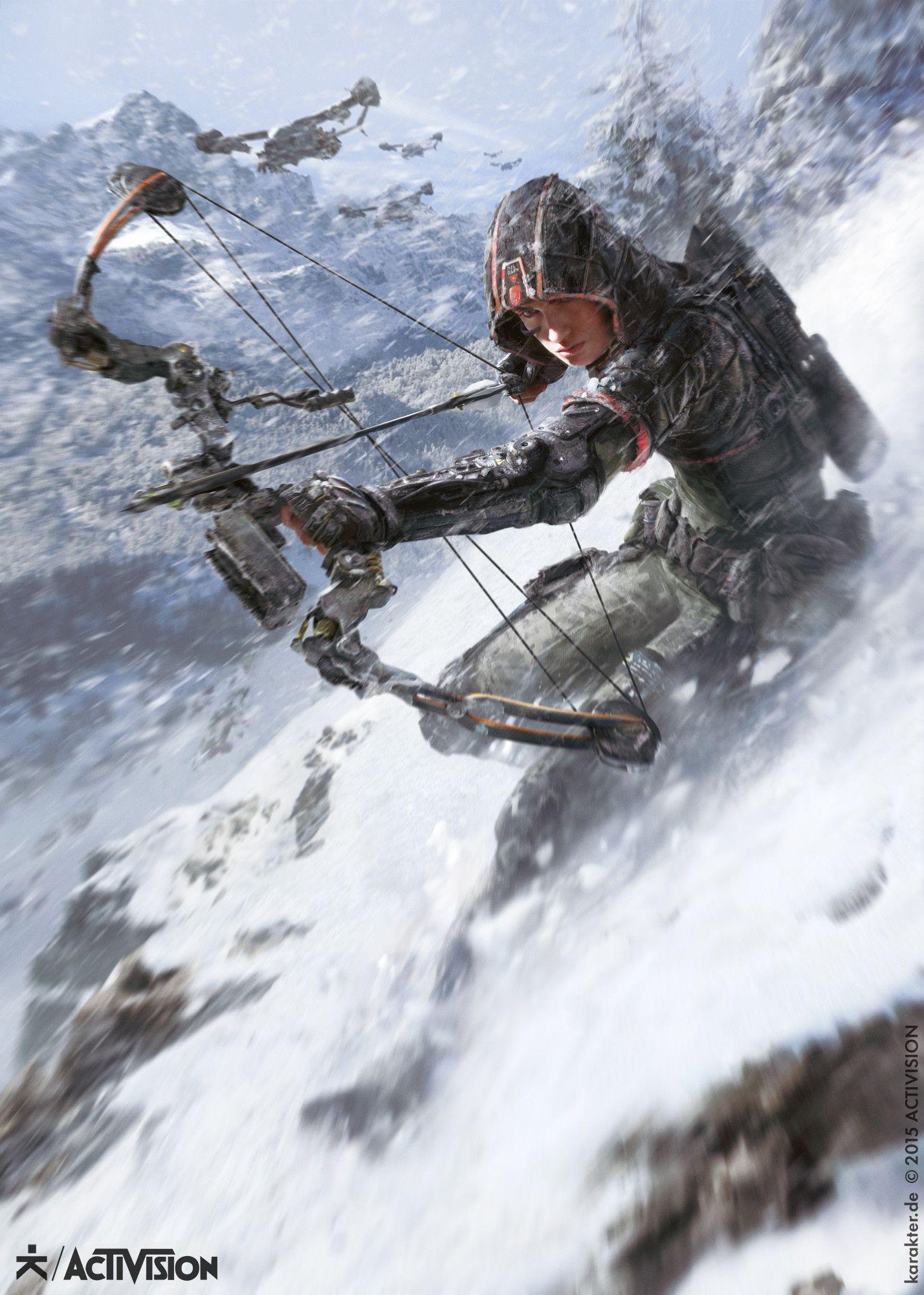 Black Ops III - Hunter, karakter