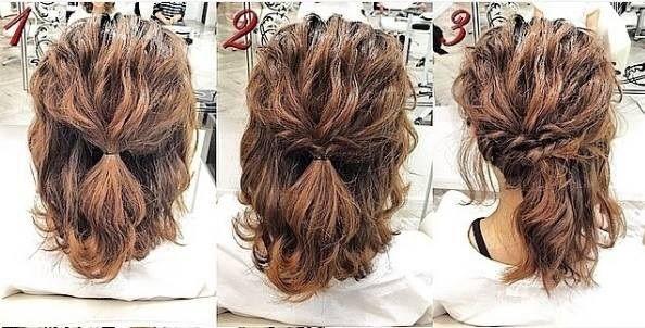 17 Belles Coiffures faciles Et Rapides Pour Cheveux Courts