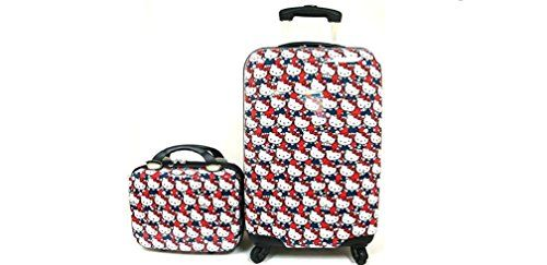 7f6af9e73f6 Hello Kitty ABS Luggage and Matching Cosmetic Case Set. abs luggage approx  cosmetic case approx hard shell spinning luggage. brand new, licensed item.