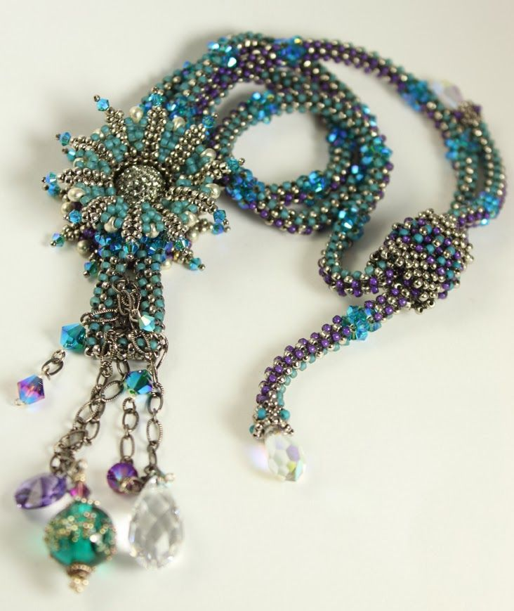 Multi Functional Jewelry With Images Bead Work Jewelry Beaded Jewels Functional Jewelry