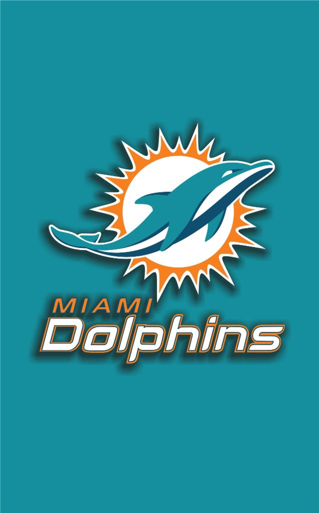 Miami Dolphins Vinyl Auto Stripe Decal