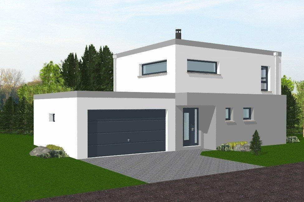 Image result for maison toit terrasse avec étage minimál Pinterest
