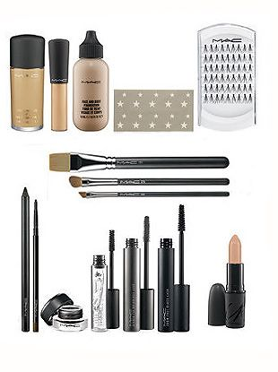 carine roitfelds MAC makeup collection. everything you need to fufill a successful look!