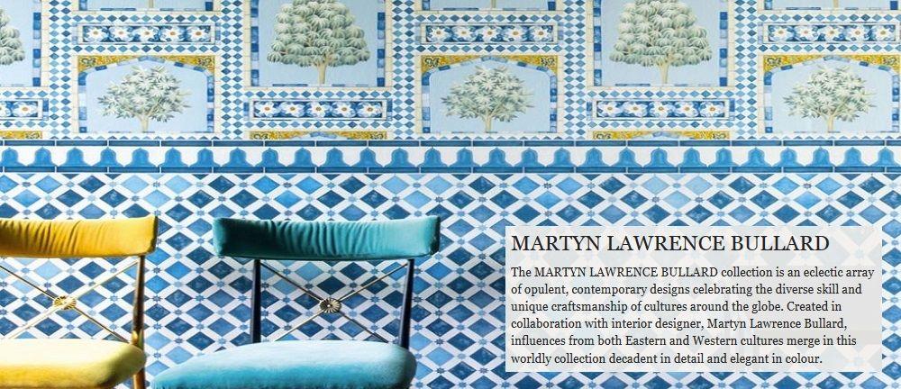Martyn Lawrence Bullard fabric wallpaper Fabric