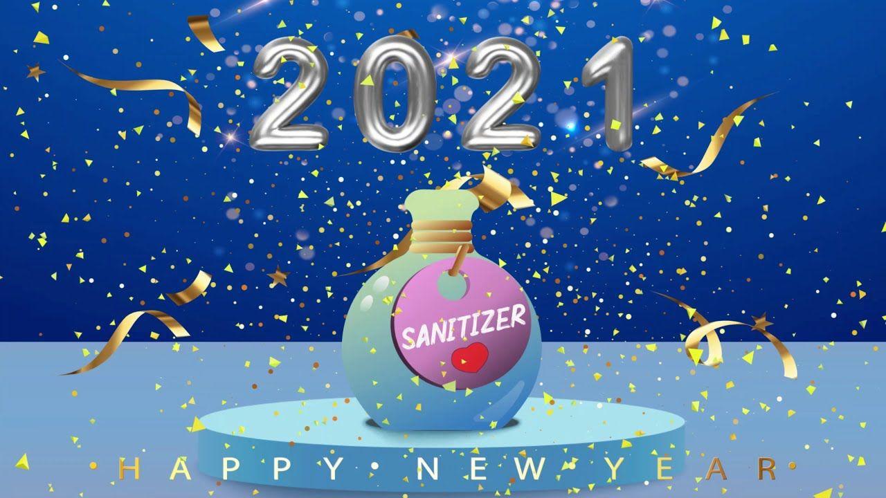 Happy New Year 2021 Whatsapp Status New Year 2021 Happy New Year 202 Newyear Happy New Happy 2021 happy new year christmas ball