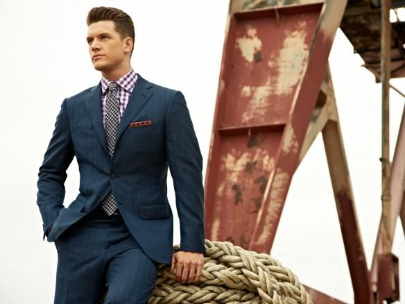 Really nice suit with nice details. | Gentleman's Style ...