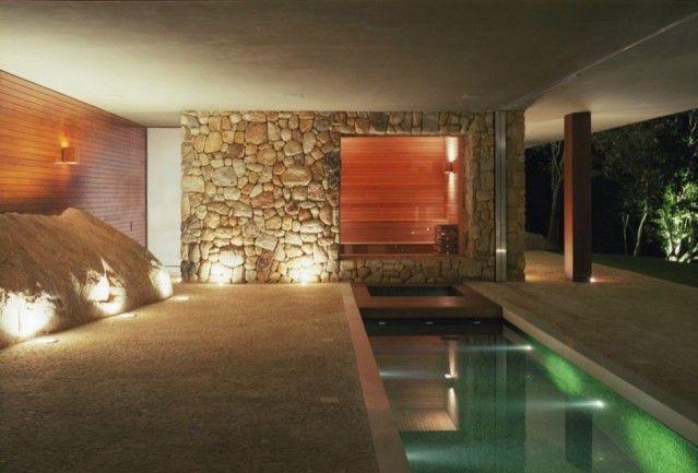 Resultado de imagen para cabañas modernas de piedra