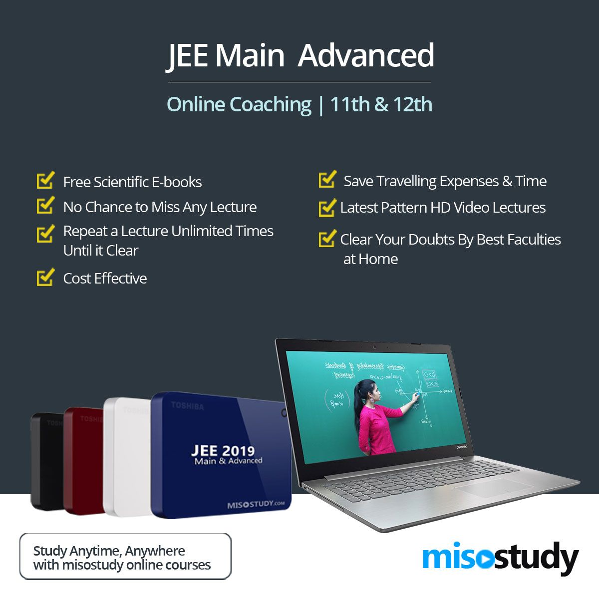 JEE Advanced Online Coaching | IIT- JEE Main / Advanced