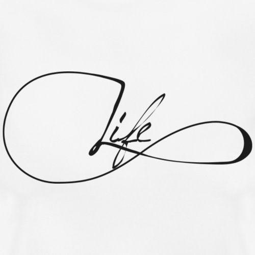 Infinity Henna Tattoo: Infinity Life - Frauen T-Shirt