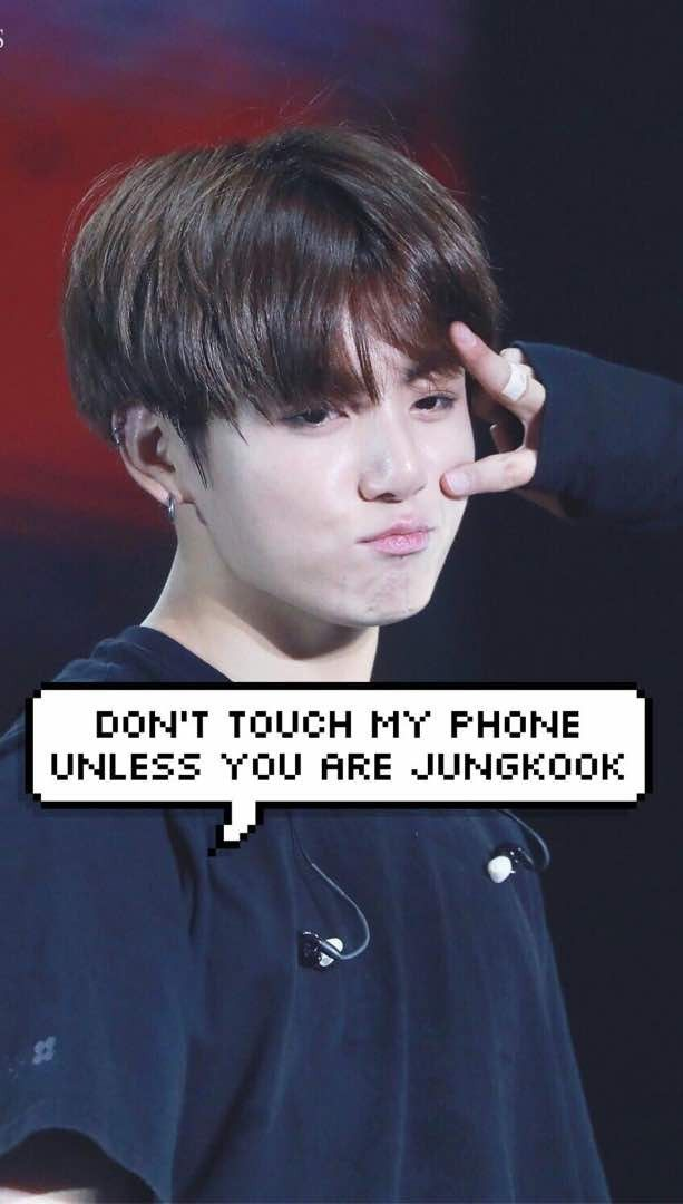 Dont Touch My Phone Kpop Wallpapers Bts Wallpaper