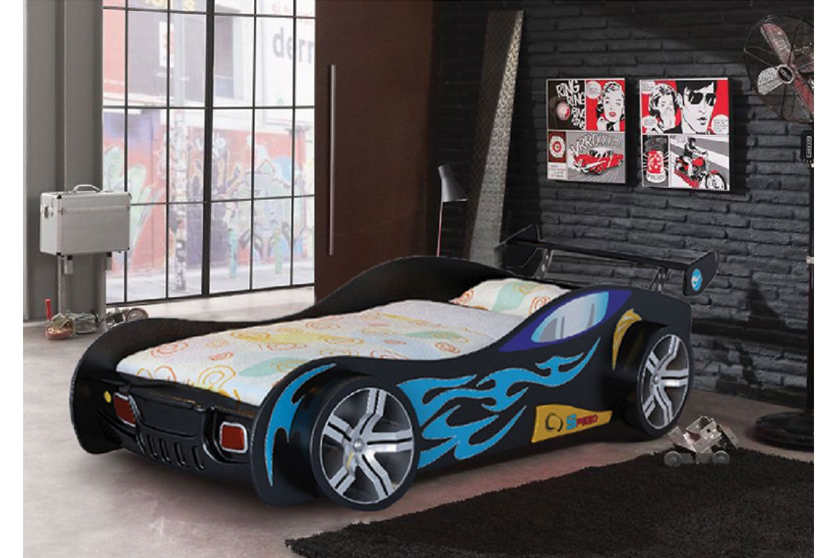 About Race Car Beds On Pinterest Race Car Bed Audi Cars And Jaguar - Childrens black turbo sports car bed frame