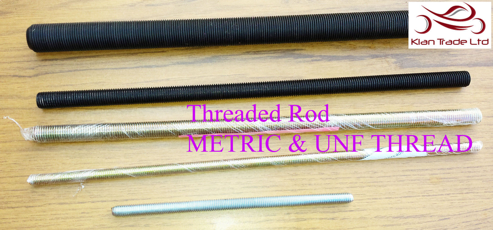 Details about MATRIC THREAD STUD STEEL PLATED FULLY THREADED