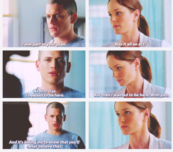 michael scofield and sara tancredi relationship problems