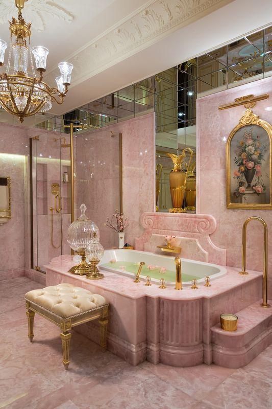 Photo of Dreamiest pink bathroom