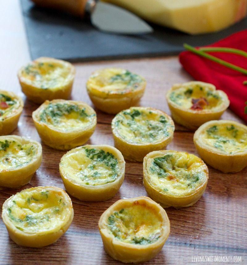mini quiche lorraine recipe recipe easy french recipes french appetizers recipes pinterest