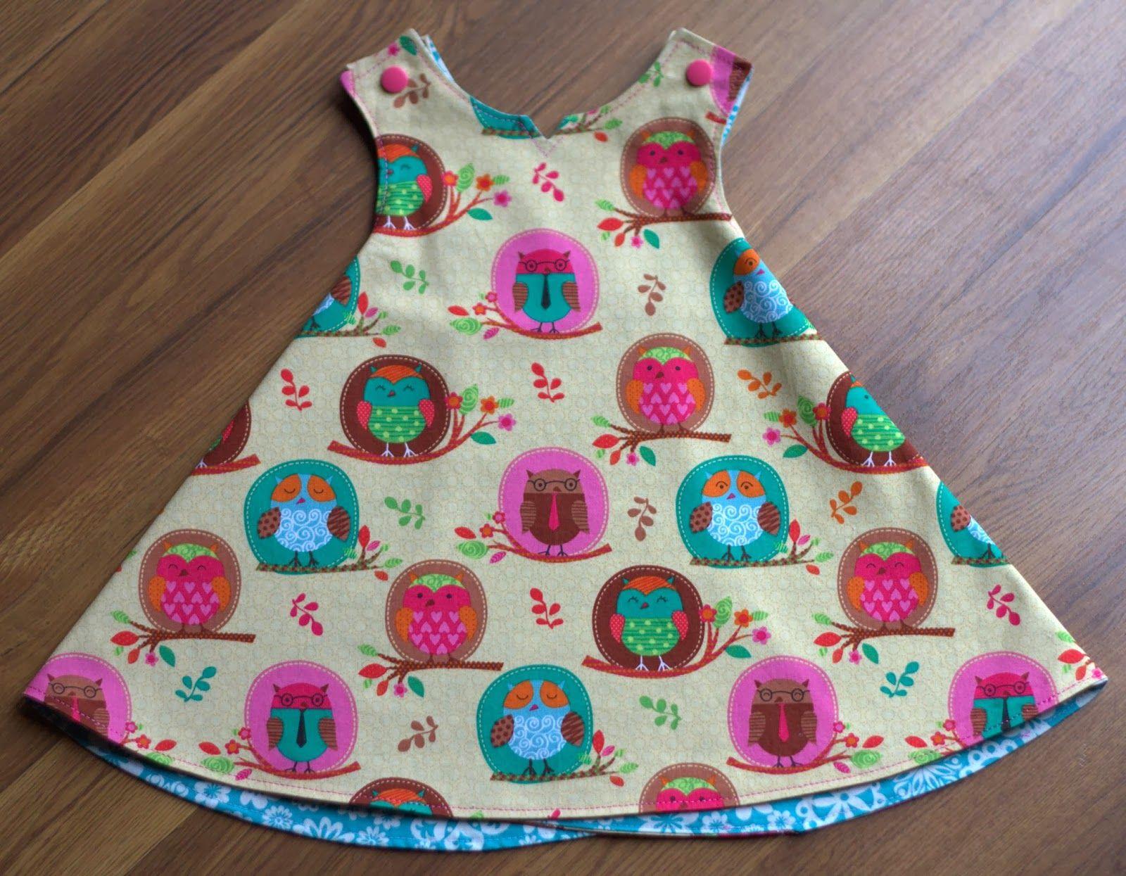 PiePie Designs: DIY Baby Dress: The Aurthi | Sew....a needle pulling ...