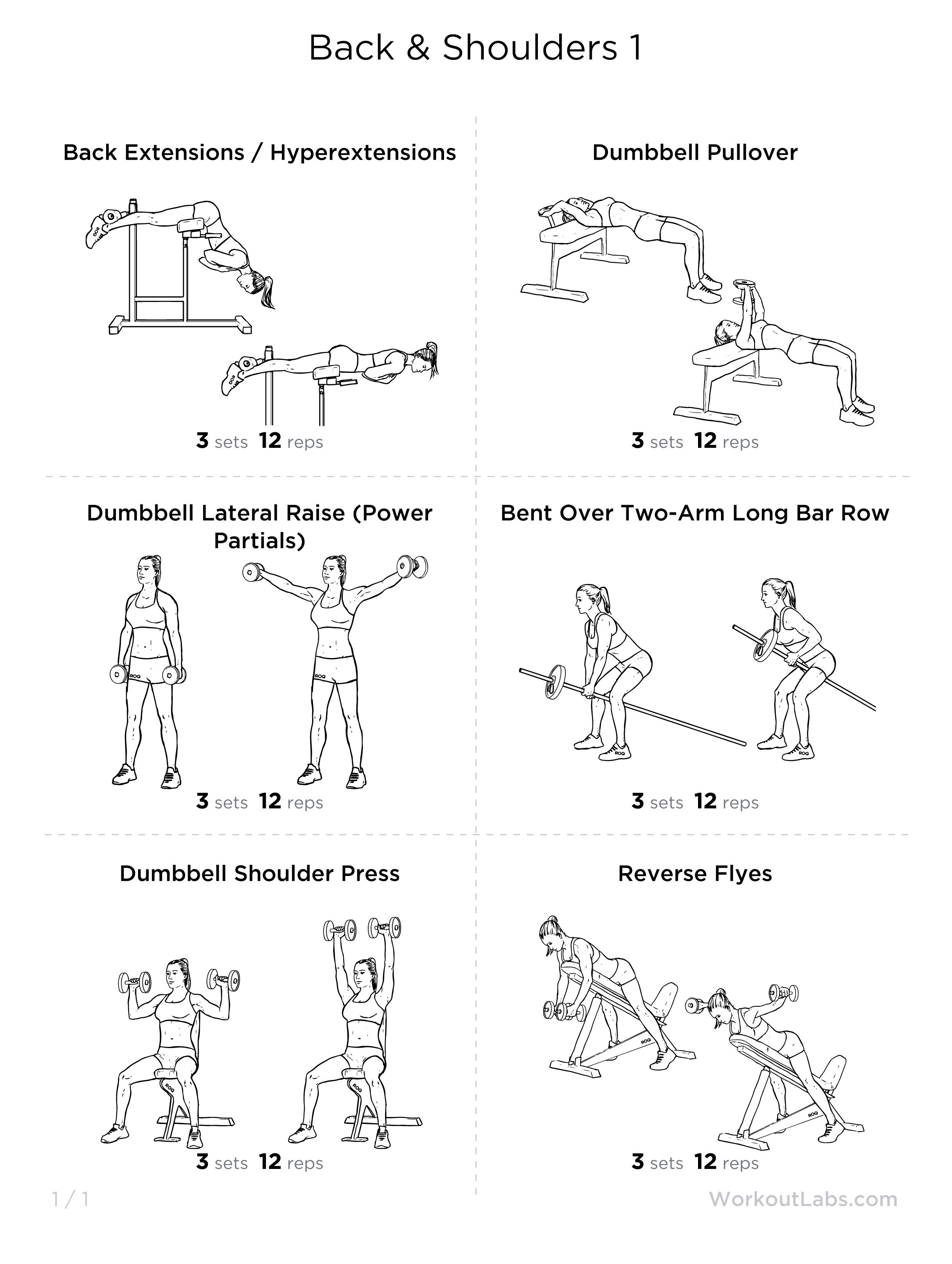 Obsessed with working out my back and shoulders... Need to try this ...