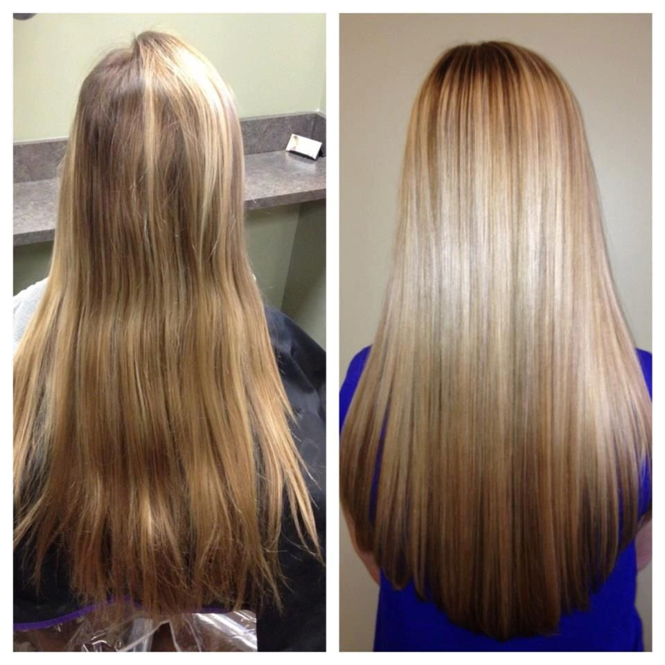 Balayage- A French highlighting technique without the use of foils. Make an appointment 472-8078
