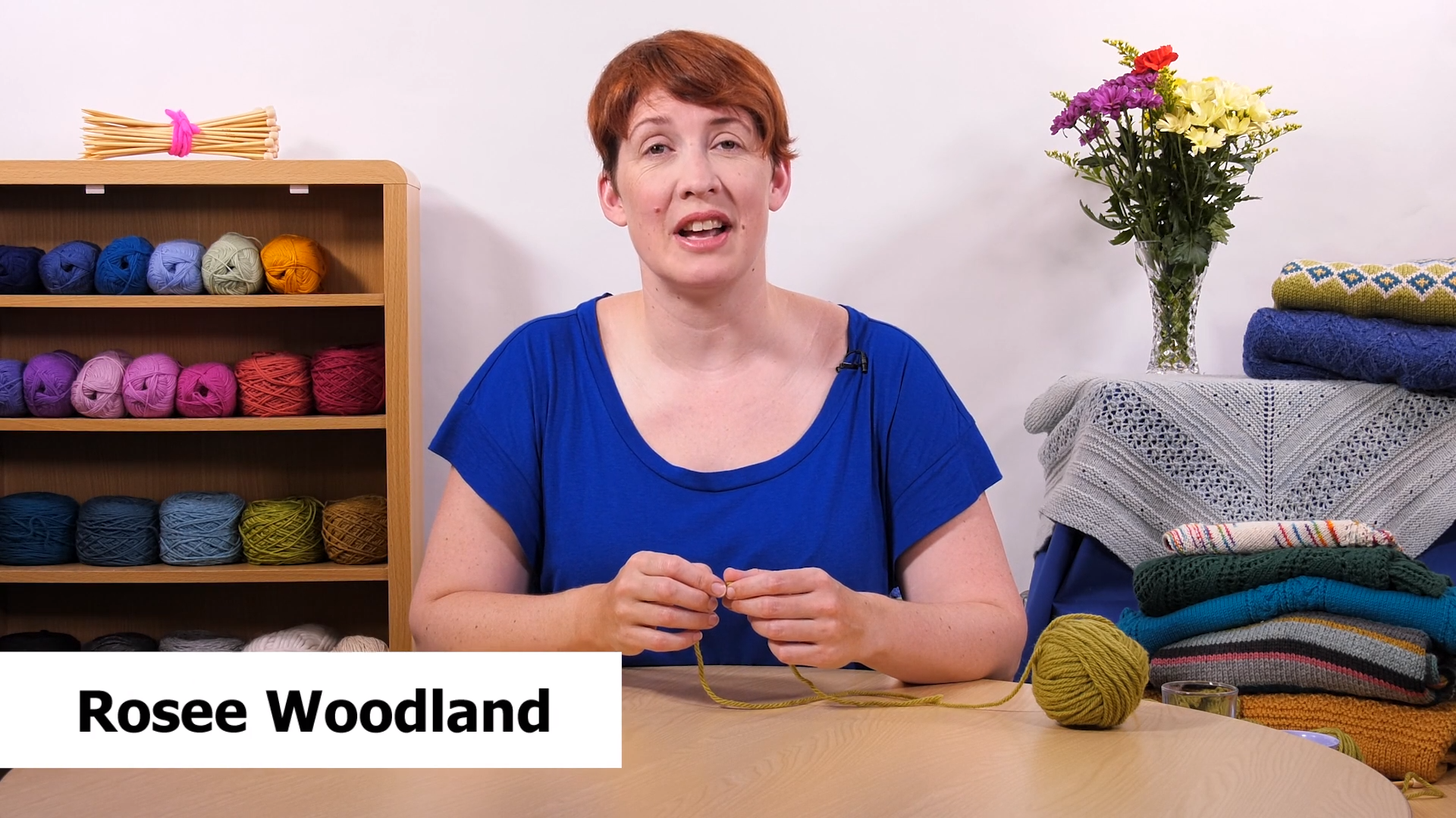 Photo of How to Knit – Casting on with Rosee Woodland