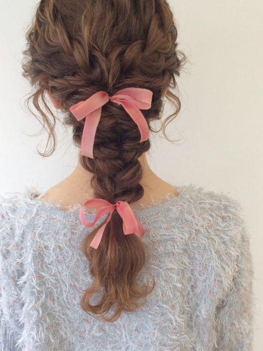 Peinados para chicas con cabello chino  Peinados para chicas con cabello chino