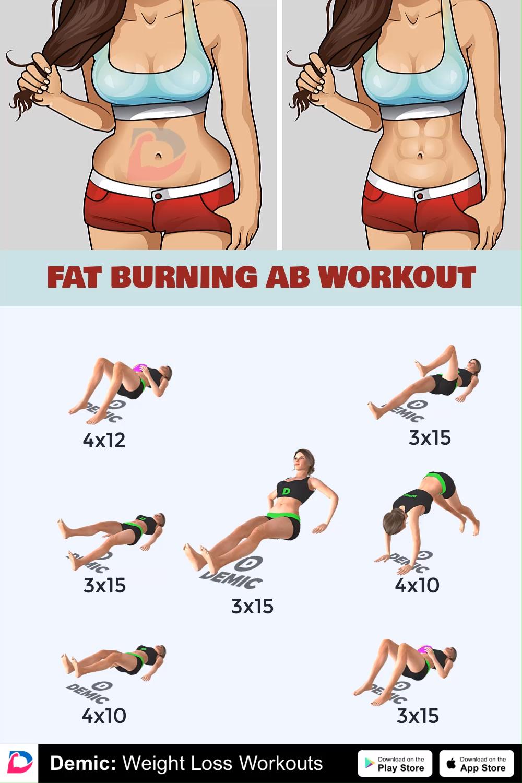 fat burn egzersizleri