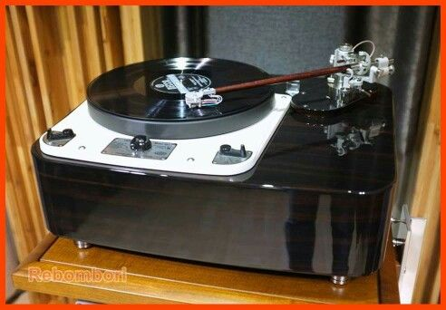 Garrard 301 And 12 Reed Tonearm Turntable Turn Table Vinyl Vintage Electronics