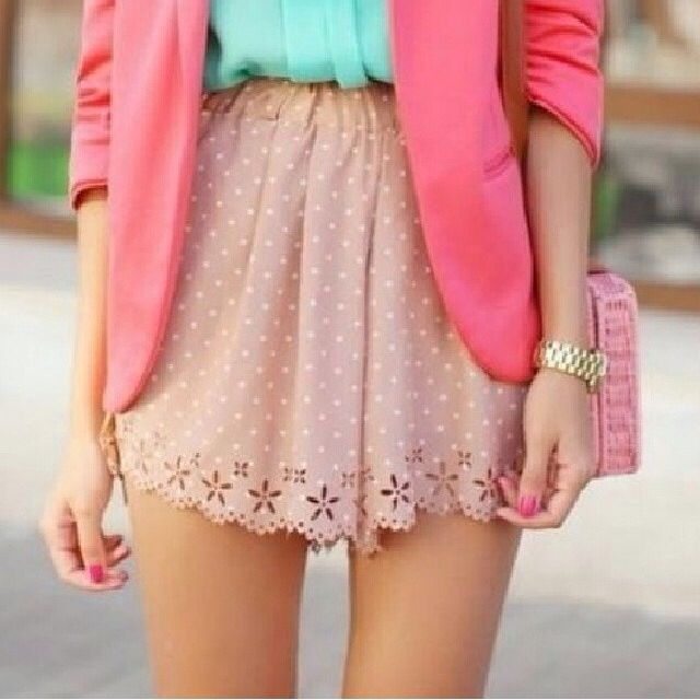 Bright colors work well for spring and summer