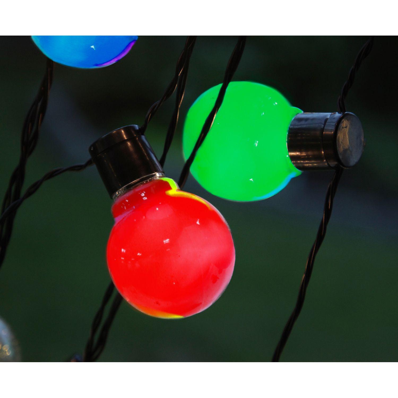 Party Light, Star Trading. Koristeellinen valonauha 16 hehkulamppuja muistuttavilla lampuilla. Sopii...