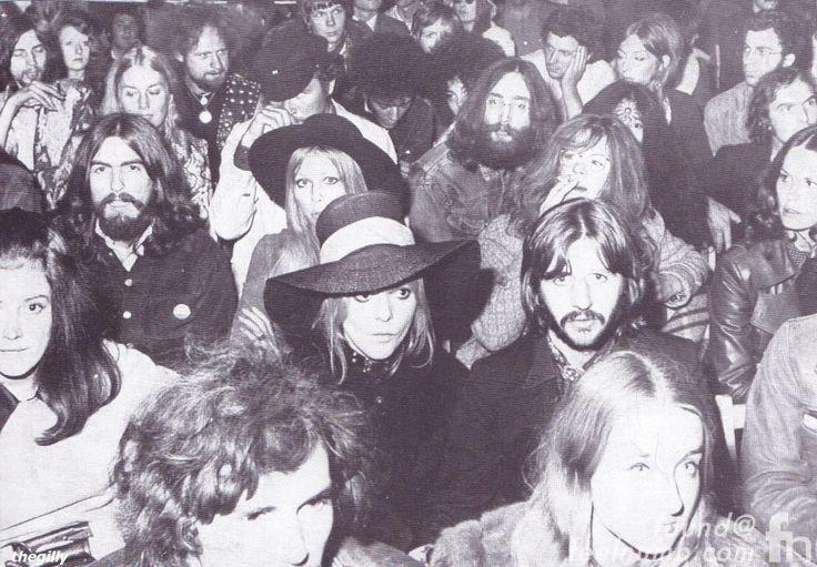 The Beatles Isle of Wright John Lennon George Harrison Ringo Starr