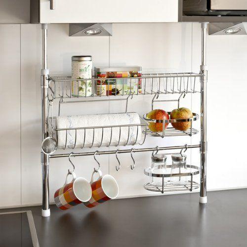 10 Idee fai da te salvaspazio per tenere in ordine anche la cucina ...