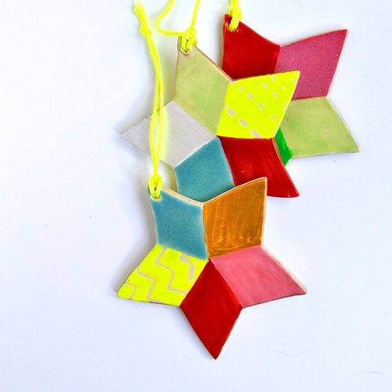 modern christmas ornaments images   Star Ornament ...