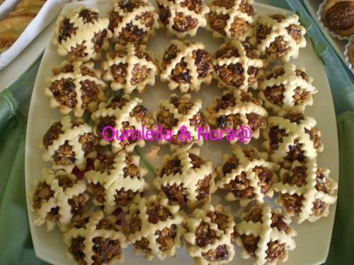 A base de fruits secs - Barquettes de… - Paniers de fruits… - M'chekla - Losanges de fruits… - Halawiyat Maghribiya