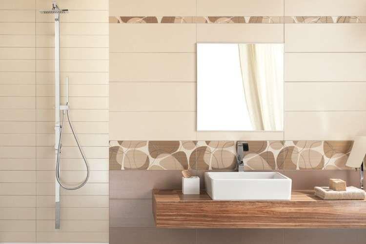 Bagni piccoli moderni - Bagno dai colori pastello