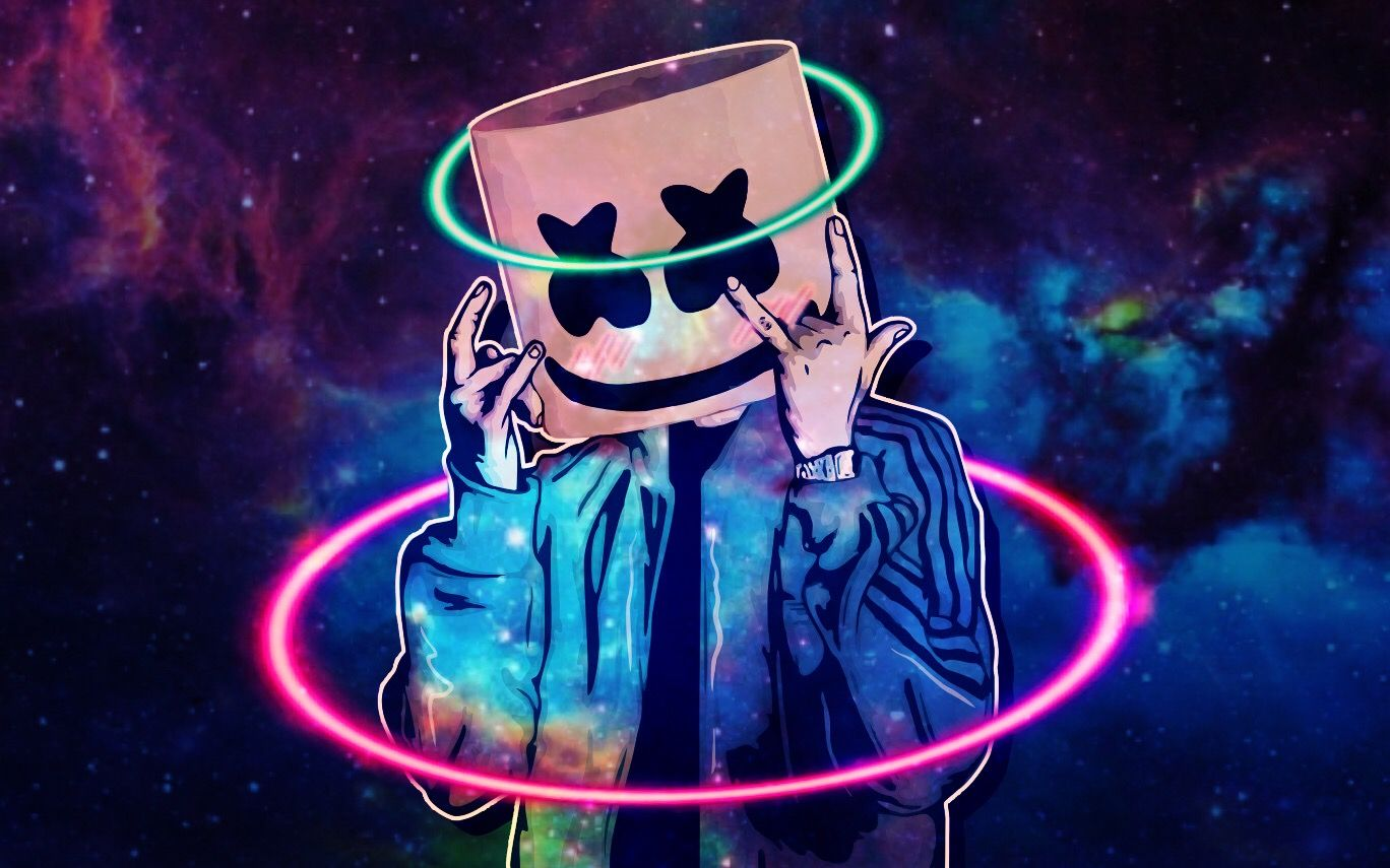 Where Are You Mello Gang Mellogang Marshmello Alone Music Neon Wallpaper Dj Pics Dark Art Photography