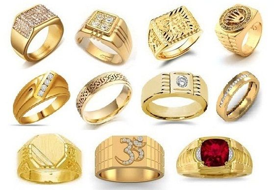 25 Simple And Heavy Indian Gold Rings Designs For Men 2018 Make Up