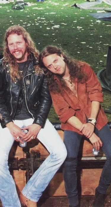James Hetfield & Lars Ulrich